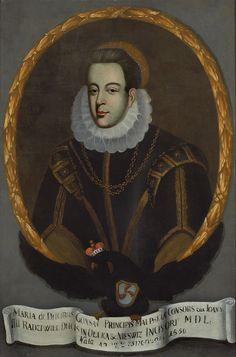 Portret Marii Hippolity z książąt Gonzagów (1534-?) Radziwiłłowej ?