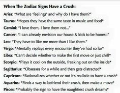 When the Zodiac Signs have a crush...(I'm a Libra and this is so true)