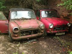 MORRIS MINI COOPER S x 2 Restoration projects classic 1963 Photo