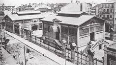 plaza de lugo. Mercado obra de Pedro Mariño 1910