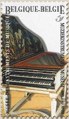 belgian stamps Music