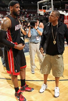 Lebron James  Jay-Z   #miami #heat   to2ne