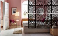 Artistic Room Divider Metal Hanging Art Screens by ColdEdgeGallery