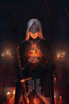 Dark Souls III: Fire Keeper - Cosplay by Vera ZaitcevaPhotography by Vasiliy Morozov