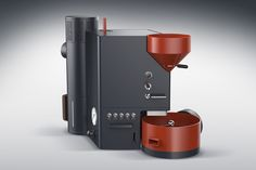Here& a design aesthetic I haven& seen in a while! This coffee roasting machine has a wonderful Cubist style comprising elements that are integrated physically, but