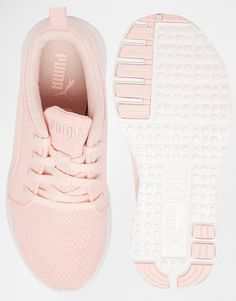 f924ea9fe25 Image 3 of Puma Carson Runner Camo Mesh Pale Pink Sneakers Pink Puma  Sneakers
