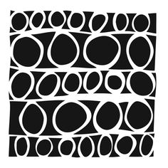 The Crafter's Workshop - 12 x 12 Doodling Template - Circles In Lines