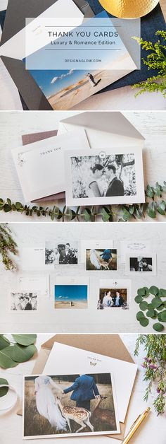 Need the perfect wedding upsell, gift, or bonus for early booking? Our Luxury & Romance Thank You Cards will make a big impact on your clients and a small impact on your wallet.
