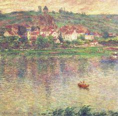 """Claude Monet """"Vetheuil, 1901"""""""