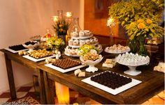 Mesa de Doce sem maquete de bolo