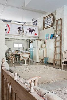 Manolo YManolo's Loft in Madridllera by decor8, via Flickr