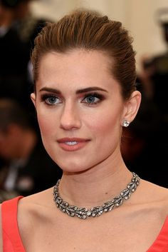 "Allison Williams Actress Allison Williams attends the ""Charles James: Beyond Fashion"" Costume Institute Gala at the Metropolitan Museum of A..."