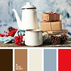 ideas house modern interior color schemes for 2019 Red Color Schemes, Red Colour Palette, Interior Color Schemes, Color Combos, Color Palettes, Christmas Palette, Christmas Colors, Color Balance, Color Harmony