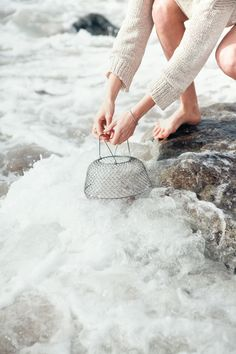 Ode to Summer's Catch from Kinfolk. Photography by Young & Hungry. Cottages By The Sea, Kinfolk, Slow Living, Simple Pleasures, Coastal Living, Oysters, Summer Time, Seaside, At Least