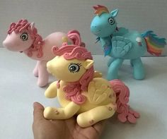 my+little+pony+cake+topper+pony+ponies+ponys+by+PorcelainWorkshop
