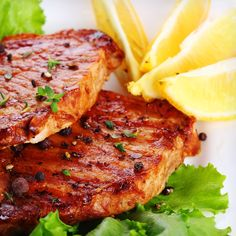 If you want to serve a dipping sauce with the chops, rather than boiling the marinade, make a fresh batch.