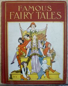 Famous Fairy Tales Book Illustrated by Watty Piper Eulalie and Lois Lenski - Platt & Munk Co. of New York. Vintage Book Covers, Vintage Children's Books, Vintage Stuff, Children's Book Illustration, Book Illustrations, Famous Fairies, Old Children's Books, Fairytale Art, Magic Book