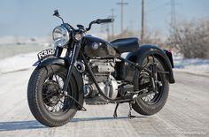 Old Sunbeam S7 Motorcycle