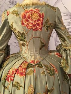 Image result for outlander costumes embroidery