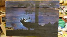 Midnight Elk on Pallet