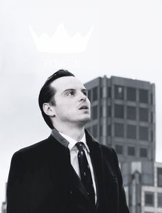 "Moriarty. ""I need the floaty crown, Sherlock. I can't have it if I don't hold my head like this."""