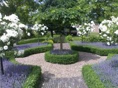 Formal Garden Designs and Ideas Have you ever really thought about how many people see the outside of your home? Formal Gardens, Outdoor Gardens, Formal Garden Design, French Formal Garden, Boxwood Garden, Olive Garden, White Gardens, Front Yard Landscaping, Modern Landscaping