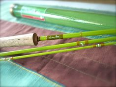 "The Fiberglass Manifesto: Ijuin-Rod - ""Yomogi"" Fly Rod Series"