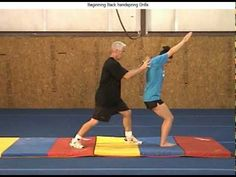 Gymnastic videos so i can learn and teach asher Beginner backhandspring drills