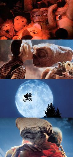 love E.T. and little Drew Barrymore! nothing better than this movie! :)