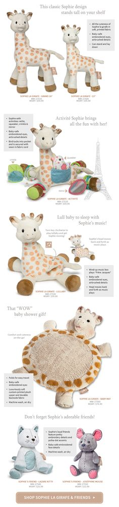 Famous Baby Teether Ring By Vulli SOPHIE THE GIRAFFE 100/% Genuine **NEW**