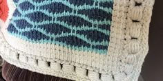 An Afghan Stitch Sampler – Edging (Bouillon Stitch)   Quilts To Crochet