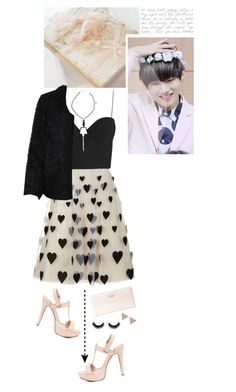"""""""You're the key to my heart"""" by glitterlovergurl ❤ liked on Polyvore featuring Anne Michelle, Alice + Olivia, Zimmermann, LE3NO, Kate Spade and ADORNIA"""