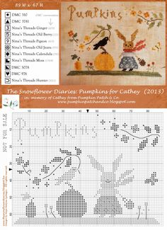 The Snowflower Diaries: PATTERN FOR CATHEY