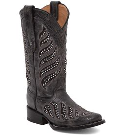 Corral La Joya Square Toe Cowboy Boot - Women's Shoes | Buckle.com