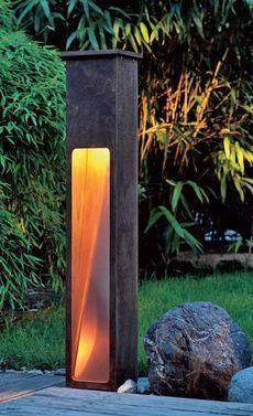 Make a big 50 of photos as decoration for your birthday - Diy Garden Projects Garden Furniture Design, Fairy Garden Furniture, Garden Lamps, Diy Furniture, Copper Furniture, Lighting Your Garden, Outdoor Lighting, Driveway Lighting, Backyard Lighting