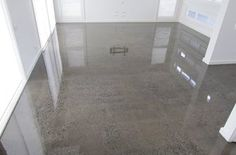 sealed concrete floors , like in jcpenny