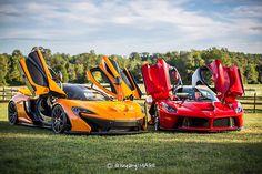 McLaren P1 & Ferrari LaFerrari
