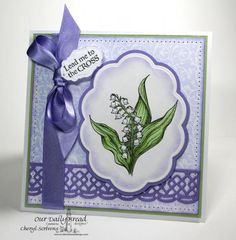 Lily of the Valley by CherylQuilts - Cards and Paper Crafts at Splitcoaststampers