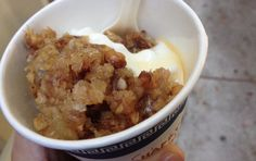 greek yogurt + baklava | souvla's, san francisco