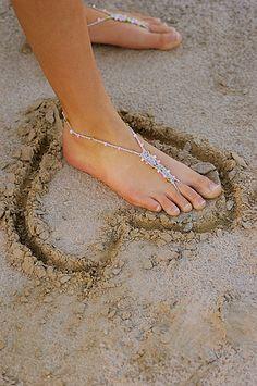 30 Beach Themed Wedding Projects & DIY Inspiration | Confetti Daydreams | An elegant and beautiful alternative to flip flops or heels! We love these beach wedding ideas! #summerweddings