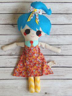 Handmade Doll Avery by MsBittyKnacks on Etsy