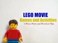 LEGO Movie Party Games and Activities