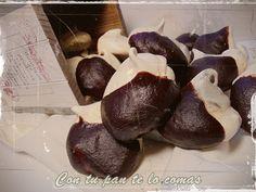 Merenguitos Con Chocolate
