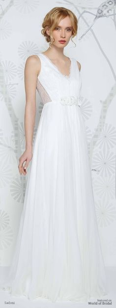 Sadoni Bridal 2016 Wedding Dress #wedding #dresses #bridal #gown #dress #sadoni