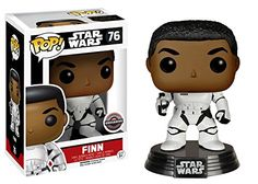 Buy Star Wars The Force Awakens Stormtrooper Finn With Blaster Funko Pop! Vinyl from Pop In A Box US, the Funko Pop Vinyl shop and home of pop subscriptions. Star Wars Collection, Pop Vinyl Collection, Funko Figures, Vinyl Figures, Action Figures, Pop Figures, Finn Star Wars, Star Trek, Space Opera
