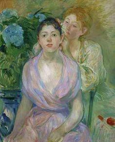 Berthe Morisot (1841-1895). The Two Sisters