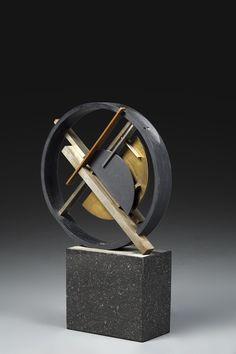 europeansculpture: Félix Del Marle - Construction, ca. Geometric Sculpture, Metal Art Sculpture, Modern Sculpture, Abstract Sculpture, Art En Acier, Lucien, Composition Art, Steel Art, Found Object Art