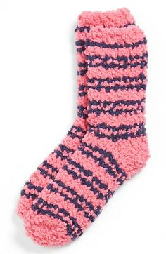 Chaussettes rayées 'Cloud' (Juniors) disponibles à omg - Gants Comfy Socks, Cute Socks, Slipper Socks, Slippers, Fluffy Socks, Really Cute Outfits, Nordstrom, Kids Socks, Striped Socks