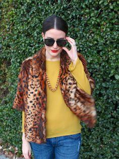 mustard & leopard