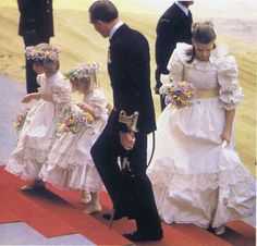 Pictures from The Royal Wedding of Lady Diana Spencer to HRH Prince Charles July 29, 1981